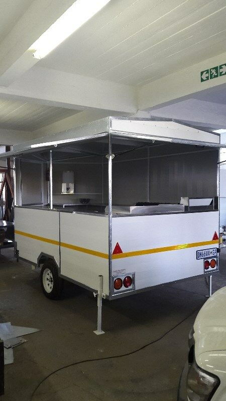 Brand New Fully Equipt Food Trailer 3.0 x 2.0 Meter