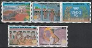 Griekenland postfris 1988 MNH 1687-1691 - Olympische Spelen Seoul