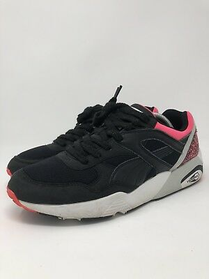 grand choix de 8ed36 18322 Puma Trinomic R698 OG 93 Mens Sneakers Black Pink 357481-01 Mens Size 10    eBay