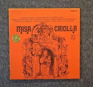 Misa-Criolla-LOS-FRONTERIZOS-CHORUS-amp-ORCHESTRA-Stereo-PCC-619-Philips-w-Book