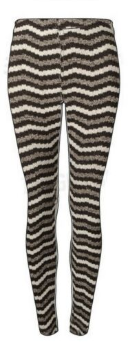 Womens Thick Knitted Warm Legging Stretchy Trouser Size 12-22 Ladies *LICK*