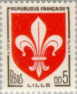 EBS-France-1960-Arms-of-Lille-Armes-de-Lille-YT-1230-MNH