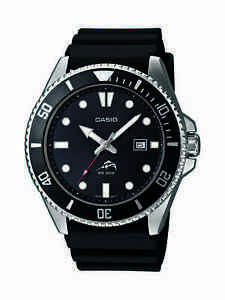 Casio-Men-039-s-MDV106-1A-Rotating-Bezel-Black-Resin-Band-Diving-Watch