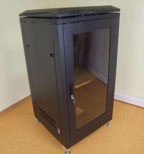 19 Stahlschrank SRT-19, 20 HE, mit Tür Serverschrank Studiorack Netzwerkschrank