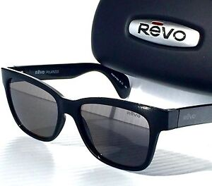 9adf5c7be9b Image is loading NEW-Revo-TRYSTAN-Black-POLARIZED-Graphite-Grey-lens-