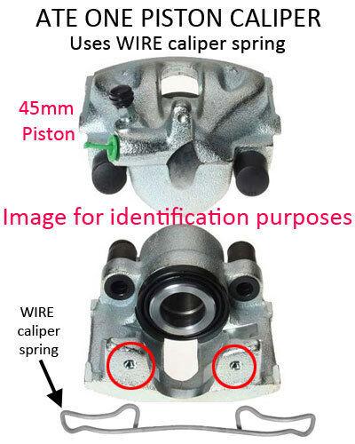 Mercedes Sprinter ATE-Solid Opt 1 PK113 rear caliper repair kit piston 96-06