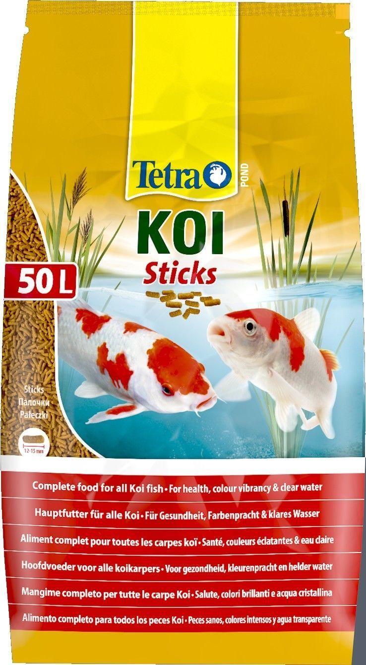 50 Liter Tetra Pond Koi Sticks Fischfutter Koisticks Teich schwimmfähig  36386