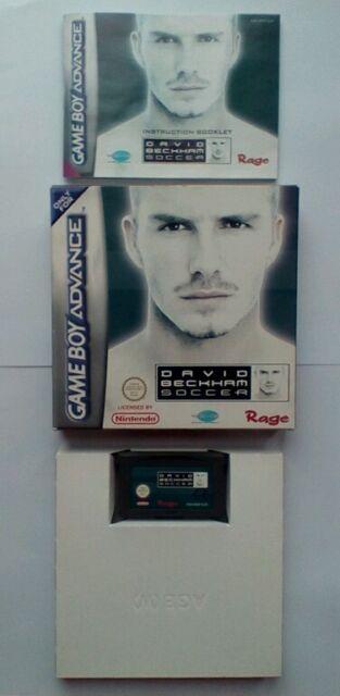 David Beckham Soccer (Nintendo Game Boy Advance, 2002)