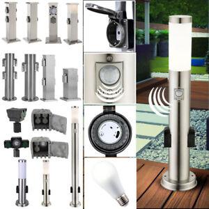 Außen Garten Steckdosen Strom Säule Verteiler Timer Sensor Steh