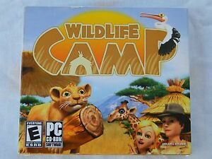 Wildlife-Camp-Jewel-Case-PC-2010-Factory-Sealed-New