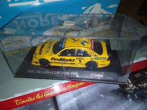 Minichamps-1-43-Mercedes-C-180-AMG-DTM-1995-5-GRAU-NEUF-EN-BOITE