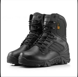 Men/'s Army Tactical Comfort Combat Military Ankle Boots Work Desert Hiking Shoes