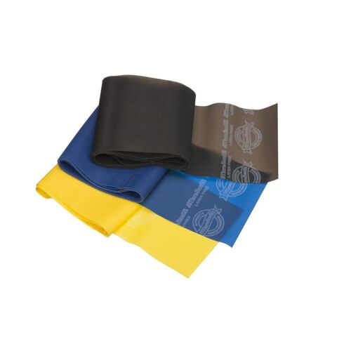 Yellow//Blue//Black Theraband Professional Latex Resistance Bands