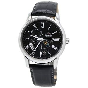 Orient Sun and Moon Version 3 FAK00004B0 Black Dial Men's Watch