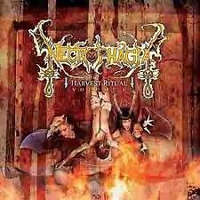 "*****CD-NECROPHAGIA""HARVEST RITUAL Volume 1""-2010 Coffin Records NEU/OVP*****"