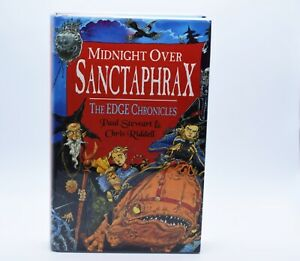 SIGNED-1ST-EDITION-BOOK-MIDNIGHT-OVER-SANCTAPHRAX-PAUL-STEWART-CHRIS-RIDDELL