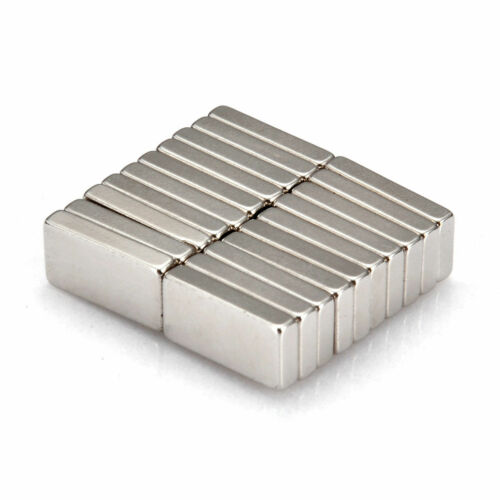 20 Stk Starke Neodym Magnete N52 10x5x2mm Quader Magnet Für Pinnwand Kühlschrank