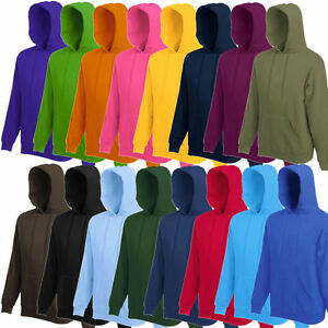 Fruit-of-the-Loom-Herren-Kapuzenpullover-Kapuzensweatshirt-Hoodie-S-M-L-XL-XXL