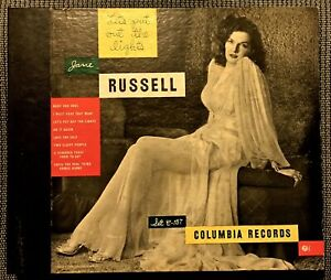 Jane Russell - Let's Put Out the Lights - 1947 Columbia 4-record Set C-157