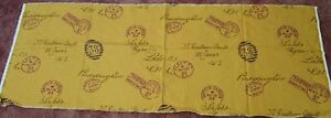 Fabric-Remnant-postal-address-postmark-Kensington-Fleet-Street-Hatton-Garden