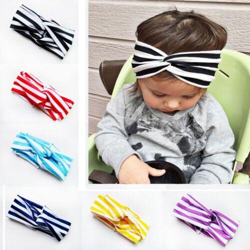 Hair Accessory Girl Cotton Baby Newborn 6 Colors Twisted Turban Knot Headband