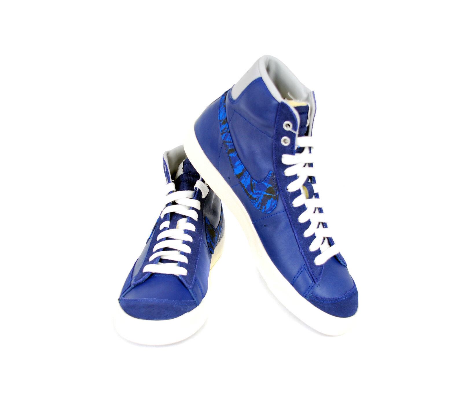 Nike Men's Blazer Mid `77 PRM VNTG Trainers Royal Blue10 109 BCF511