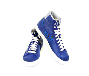 9 £ Uk Prm Mid Blazer Royal `77 5 de Blue Zapatillas Nike Bcf511 Vntg deporte Rrp Men's 109 7Rq4p