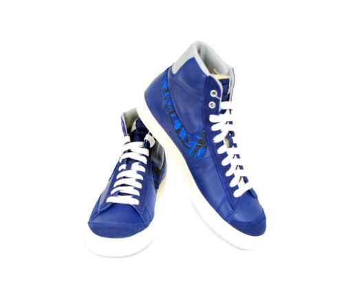 Rrp Prm `77 Royal Blazer deporte 8 £ Vntg de Zapatillas Nike 109 Uk Men's Bcf511 Mid Blue wqSgnFOF