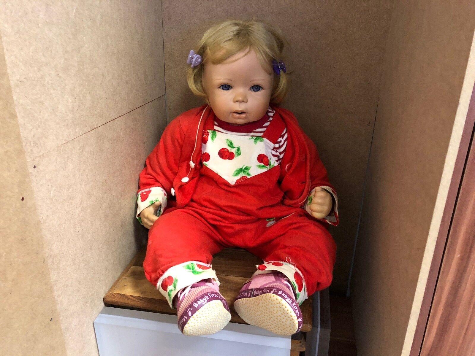 Inge tenbusch bambola di porcellana 61 CM. OTTIMO stato