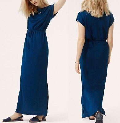 NWT ANN TAYLOR LINEN MAXI DRESS