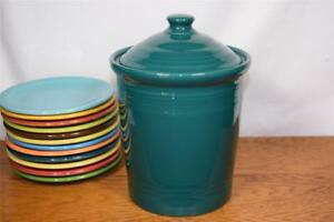 Fiesta-EVERGREEN-Medium-Canister-Discontinued-Color-1st-Quality