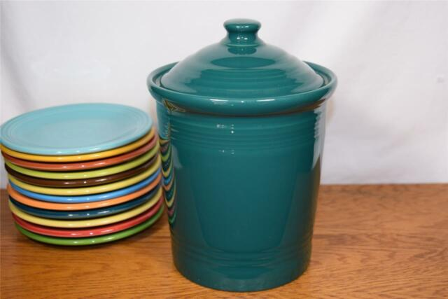 Fiesta® EVERGREEN Medium Canister -  Discontinued Color - 1st Quality