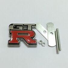 GTR GRILL BADGE Emblem Nismo Pulsar Skyline Nissan R32 GTS R34 S14 350Z GT-R