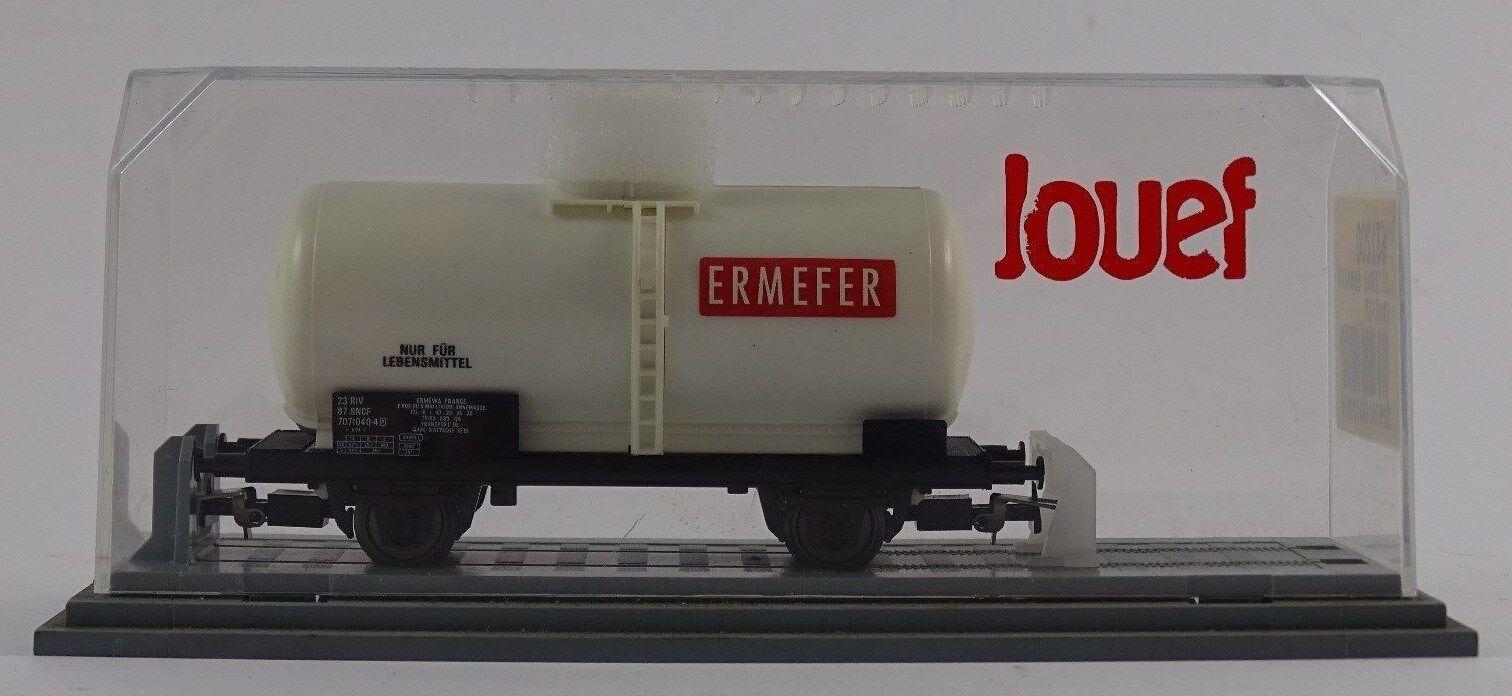Jouef 631200 Güterwagen Wagon Cisterne Essieux Ermefer SNCF neu OVP