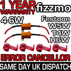 2x-LED-CANBUS-NO-ERROR-LOAD-RESISTOR-4w-5w-6w-W5W-T10-T4W-BA9S-H6W-BAX9S-FESTOON