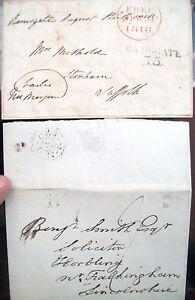 1818-LOTTO-DI-DUE-PREFILATELICHE-INGLESI-RAMSGATE