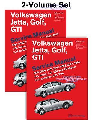 2 bentley repair guide service manual for vw golf gti jetta tdi rh ebay com 2003 volkswagen jetta owners manual free 2003 jetta owners manual pdf