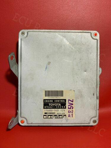 1995-1996 Toyota T100 4x2 V6 A//T ECU 89661-34250 ECM PCM Engine Computer Module
