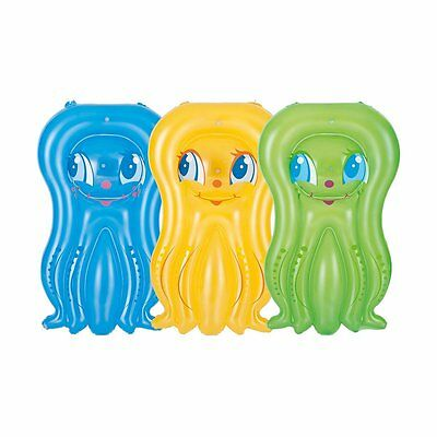 Bestway Splash Octopus Mini-Mat Toy Childs Inflatable Pool Air Bed Float Beach