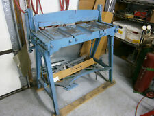 Sheet Metal Jump Shear Peck Stoweamp Wilcox 32 Used But In Good Condition
