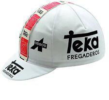 TEKA FREGADEROS RETRO CYCLING TEAM CAP - Vintage - Fixed Gear - Made in Italy