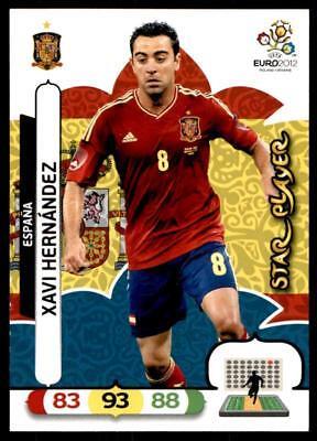 XAVI HERNANDEZ # STAR PLAYER ESPANA CARD PANINI ADRENALYN EURO 2012