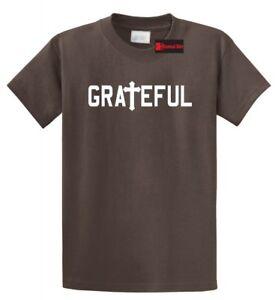 Grateful-Religious-T-Shirt-Jesus-Cross-Christian-Tee-Religion-God-Gift-Tee-Shirt