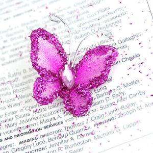 50-Stuck-Schmetterlinge-Bugelbild-Applikationen-zum-Aufbugeln-und-Annahen