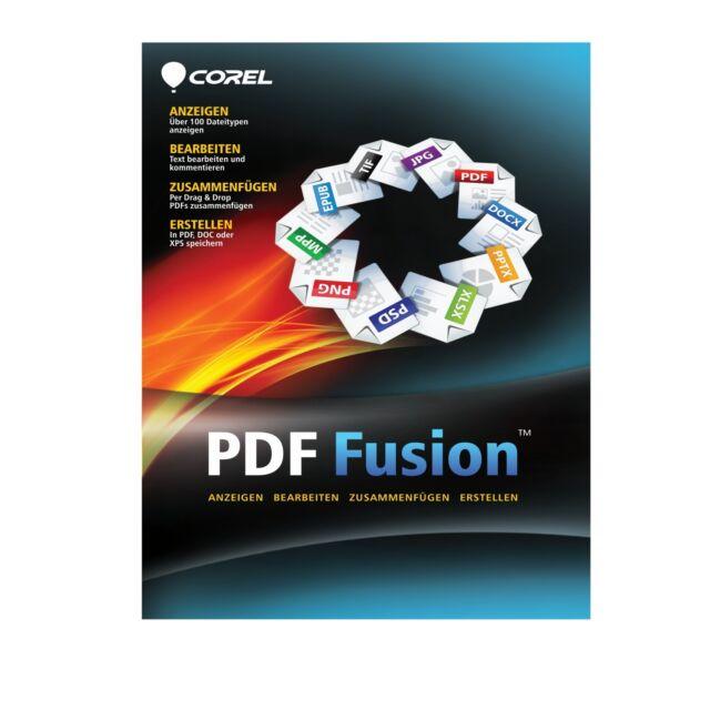 Corel PDF Fusion Vollversion - Download  / KEY