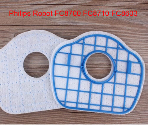 Staubsauger HEPA-Filter Ersatz für Philip Roboter FC8700 FC8710 FC8603