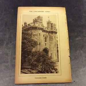 Vintage-Book-Print-The-Lancashire-Coast-UK-1931