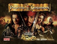 PIRATES OF THE CARIBBEAN Pinball Multi Effect Translite Light Mod