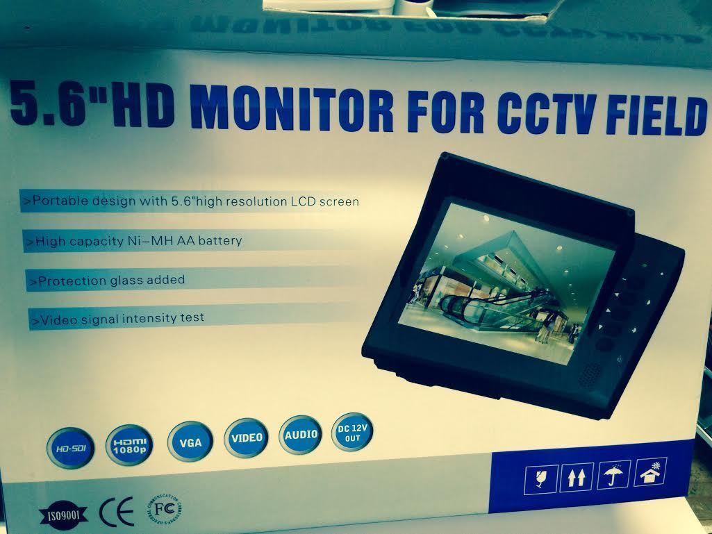 Sdi-Hd CCTV Tests Monitor HDMI VGA Vídeo BNC Visor TFT LCD Cámara Probador