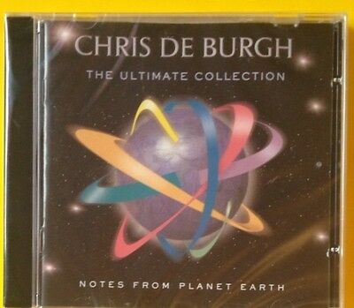 Chris De Burgh Ultimate CD NEW SEALED The Lady In Red/A Spaceman Came Travelling